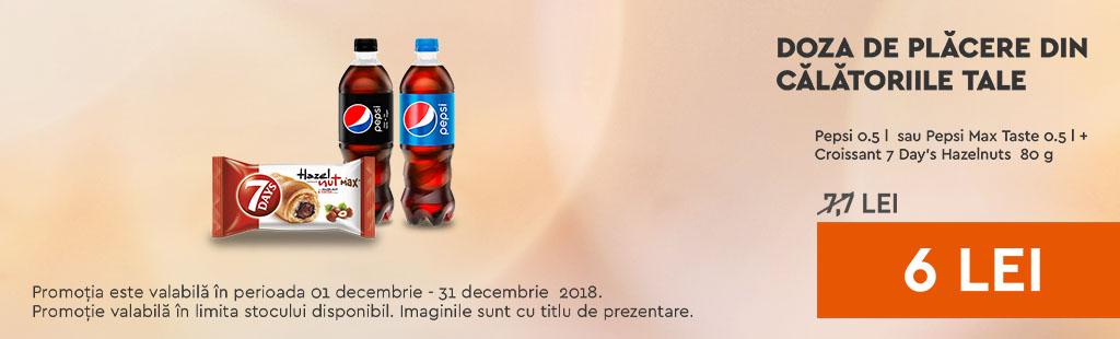Pepsi regular 0,5 si croissant 7day's